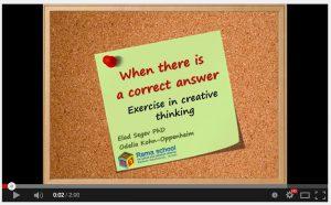 creativity video still