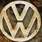 vw logo tarnished
