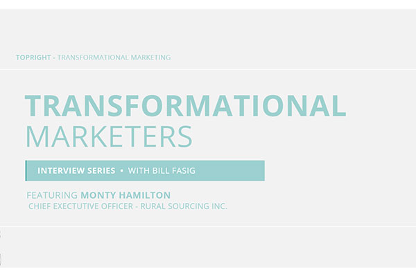 Watch Monty Hamilton's Transformational Marketer Interview