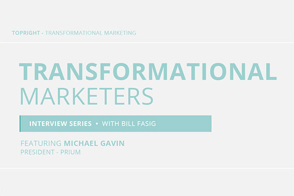 Watch Michael Gavin's Transformational Marketer Interview